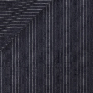 Midnight Blue Pinstripe Trousers