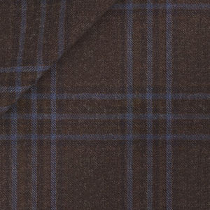 Tobacco Check Wool Suit