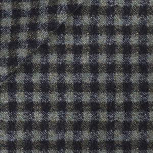 Green Check Wool Jacket