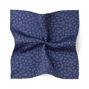 Cashmere Blue Pocket square