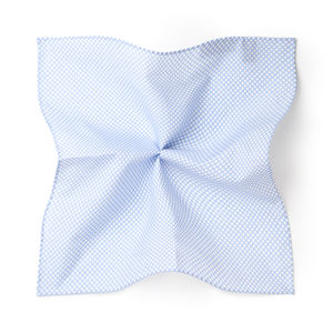 Catena Light Blue Pocket square