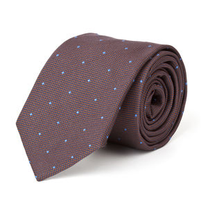 Microdesign Brown Necktie