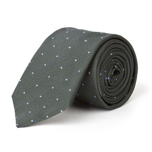 Microdesign Green Necktie