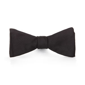 Ceremony Black Bowtie