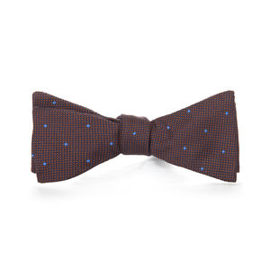 Microdesign Brown Bowtie