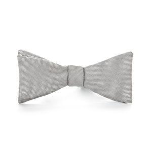 Grey Birdseye Bowtie