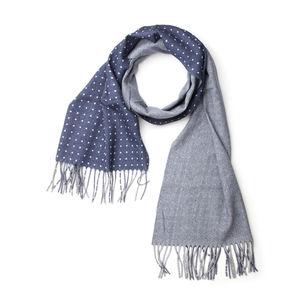Bufanda Dúo Azul