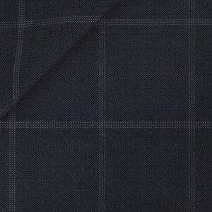 Anzug Nachtblau Überkaro