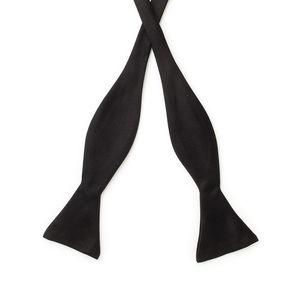Bowtie Black Silk