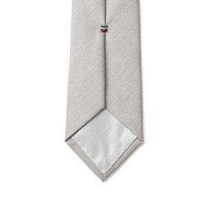 Cravate Gris Œil-de-perdrix