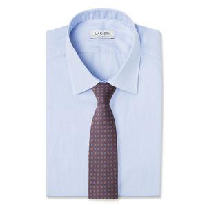 Krawatte Bordeaux Kaschmir Seide