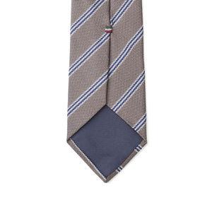 Necktie Regimental Silver