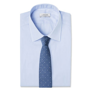 Necktie Microdesign Electric Blue
