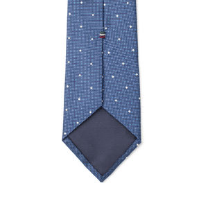 Necktie Microdesign Electric Blue