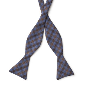 Bowtie Purple Check Wool