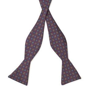 Bowtie Bordeaux Cashmere Silk