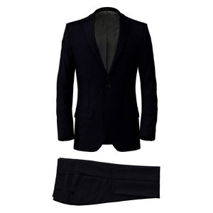 Suit Blue Check Design