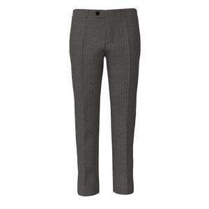 Pants London Grey Pinstripe