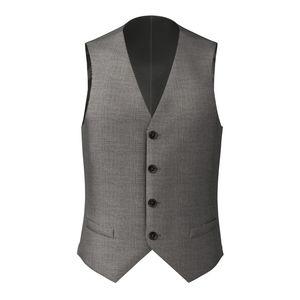 Waistcoat Grey Houndstooth