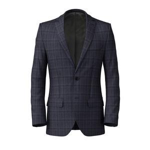 Jacket Blue Steel Check