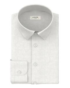 Shirt White English Dobby