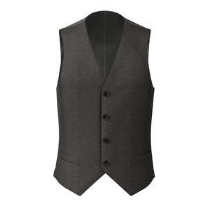Vest Charcoal Grey Sharkskin