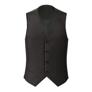 Vest Grey Micro Stripe