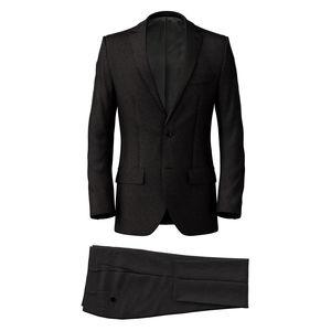 Suit Grey Micro Stripe