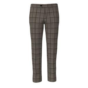 Trousers Cashmere Beige Overcheck