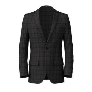 Blazer Grey Flannel Check