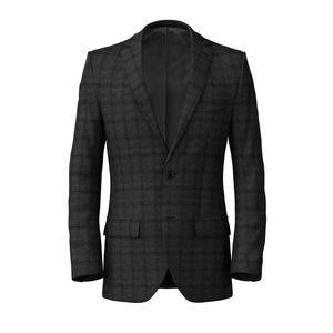 Jacket Grey Flannel Check