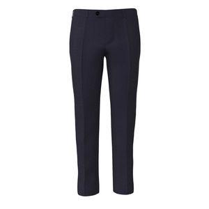 Pantalones Azul Noche Rayado