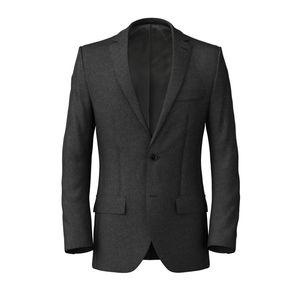 Jacket Icon Grey Flannel