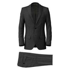 Suit Icon Grey Flannel