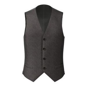 Waistcoat Grey Birdseye