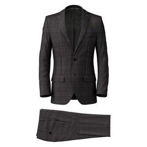 Suit Grey Rétro Check