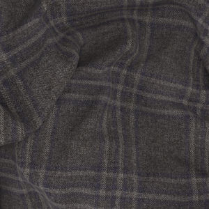Vest Grey Rétro Check