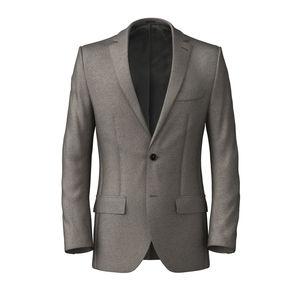 Jacket Beige Flannel