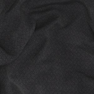 Pantalone Blu Intenso Microdesign Lana Seta