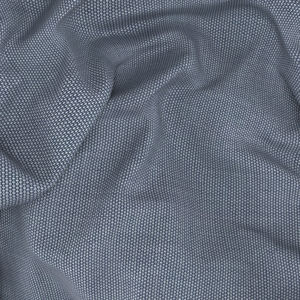 Gilet Bleu Glace Laine Soie