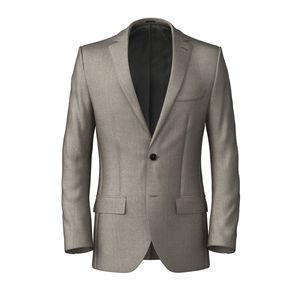 Jacket Ivory Wool Silk