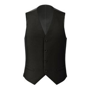 Waistcoat Charcoal Grey Wool