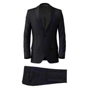 Suit Midnight Blue Wool