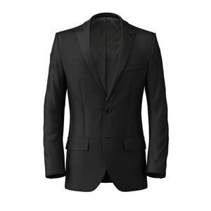 Jacket Black Classic Wool