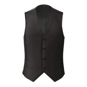 Waistcoat Black Wool
