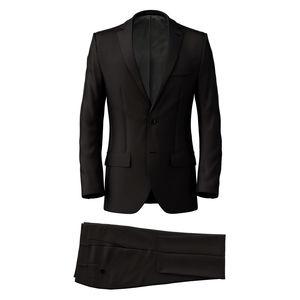Suit Black Wool