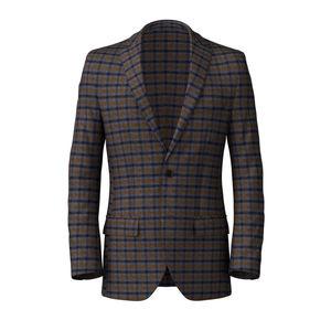 Blazer British Blue Check Wool
