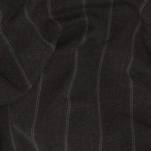 Anzug Grau Streifen-Dessin Doppelt