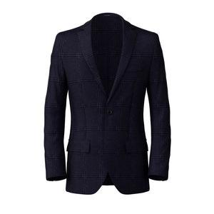 Blazer Monaco Blue Check