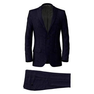 Suit Monaco Blue Check